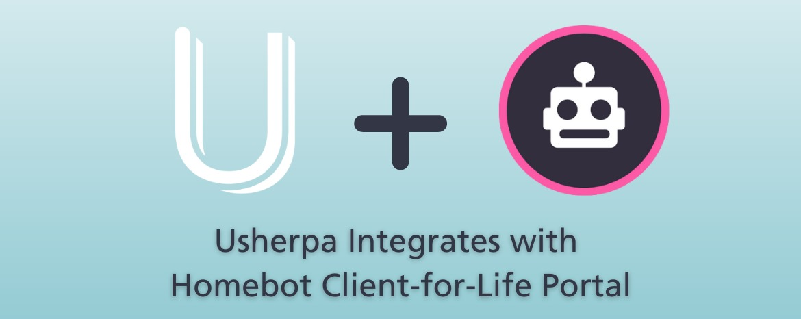 Usherpa Integrates with Homebot Client-for-Life Portal image
